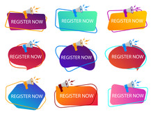 Register Now With Megaphone. L...