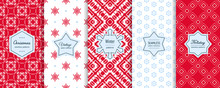 Christmas Seamless Patterns Co...