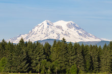 Mount Rainier Is An Active Stratovolcano And The Highest Mountain In The State Of Washington