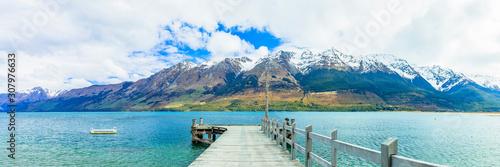 ニュージーランド グレノーキーの風景