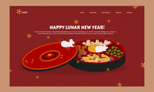 Cartoon Lunar New Year Wallpap...