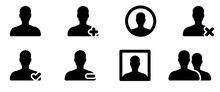 User Icon . Web Icons Or Signs...