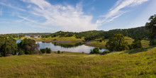 Panorama Of Folsom Lake