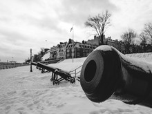 Old Cannon Of Quebec City