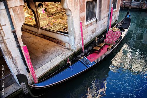 Fototapeta Nenice Italy. Venedig. Gondola. obraz