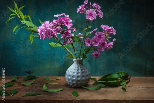 Fototapeta Still life flowers. Photo used for printing on large format canvas obraz