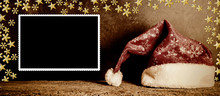 Christmas Picture Frame  Santa...