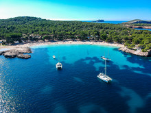 Cala Bassa Beach, Ibiza. Spain.