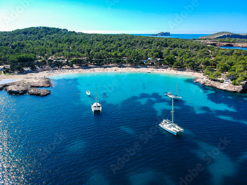 Cala Bassa Beach, ibiza. Spain.