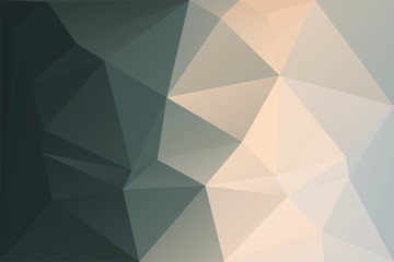 Abstract geometric background with triangles. Vector polygonal texture backgr...
