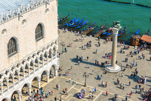 San Marco Or St Mark`s Square ...