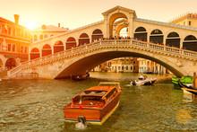 Rialto Bridge Over The Grand C...