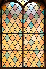 Soft Colors - Stained Glass - Church Window