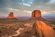 Monument valley sandstone buttes