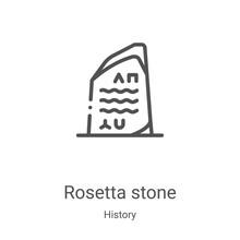 Rosetta Stone Icon Vector From...