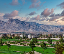 A Golf Course By A Condo Compl...