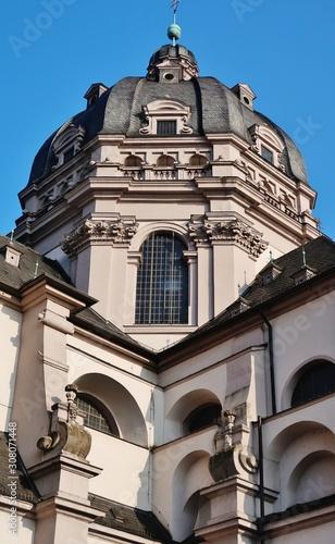 Kuppel, Kirche Stift Haug, Würzburg Fototapete
