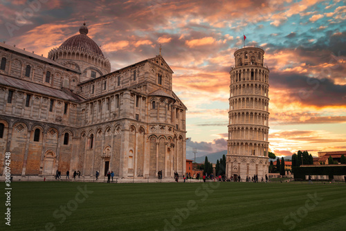 Canvastavla Leaning Tower of Pisa