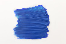 Paint Brush Of Classic Blue Color Of The Year 2020