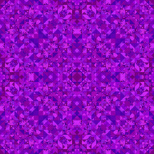 Purple Abstract Repeating Tria...