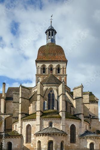 Basilique Notre-Dame de Beaune, France Canvas Print
