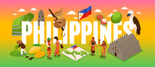 Phillipines Tourism Concept