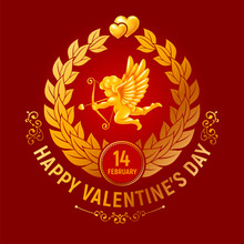 Valentines Day Greeting Card W...