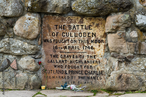 Obraz Battle of Culloden memorial - fototapety do salonu