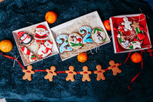 Christmas Decorations With Nice Cookies