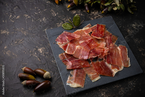 Photo Acorn ham concept