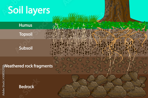 Photo Soil layers