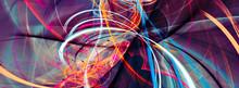Abstract Bright Multicolor Com...