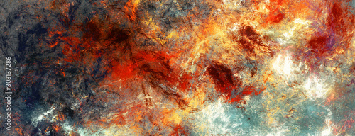 Bright painting background Wallpaper Mural