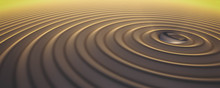 Ring Buried In Sand Ripples