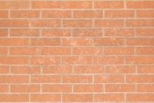 Brick Wall, Masonry Of Brown B...