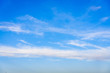 Gorgeous blue sky with clouds