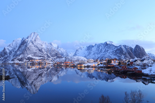 Fototapeta Reine - Lofoten - Norvège obraz