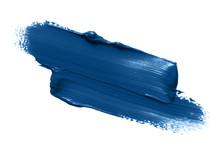 Classic Blue Lipstick Smear Sm...