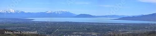 Fényképezés  Utah Lake Panorama