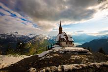 Swiss Mountain View