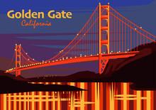 The Golden Gate Bridge In San ...