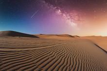 Al Ain, Abu Dhabi. Desert At N...