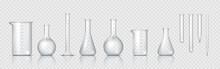 Laboratory Glassware. Realisti...