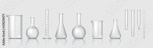 Laboratory glassware Wallpaper Mural
