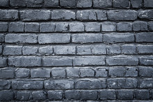Light And Dark Gray Bricks On The Wall Decoration For Background