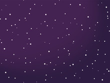 Starry Space Vector Background...
