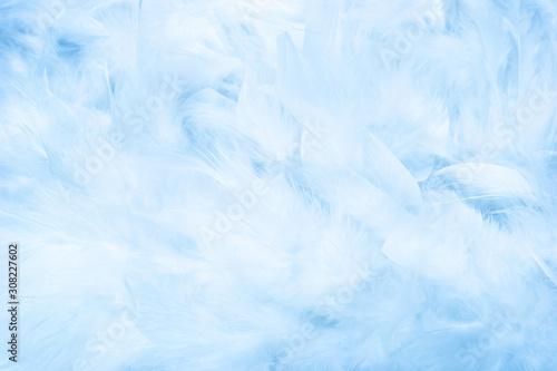 Light blue abstract pattern and background Wallpaper Mural
