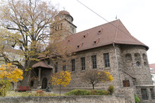 Stone Church In Stuttgart Germany