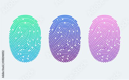 Fingerprints Canvas Print