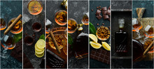 Photo Banner. Photo Collage Wi...
